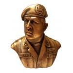 Präsident von Venezuela Hugo Chavez Bronzebüste