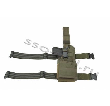Russian tactical equipment MOLLE Holster SPON SSO airsoft