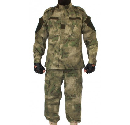 ACU Russian tactical camo uniform A-TACS pattern BARS