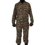 KLM francotirador US camo uniforme digital en cremallera MARPAT patrón
