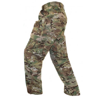 Russian tactical summer pants Rip-stop camo MULTICAM trousers BARS