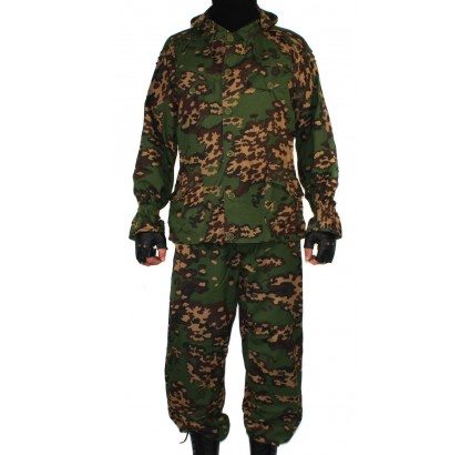 SUMRAK M1 tactical Camo masking uniform FROG pattern