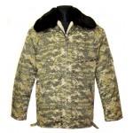 Inverno giacca calda mimetica ucraino di ufficiale militare