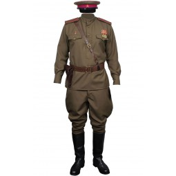 Soviet Army RKKA Infantry Russian Officers Uniform