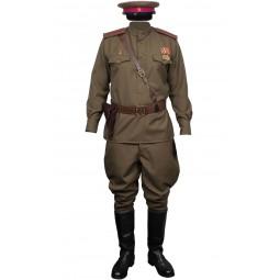 Ejército soviético RKKA Infantería Uniforme de oficiales rusos