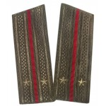 Russian Army shoulder boards for Infantry troopers