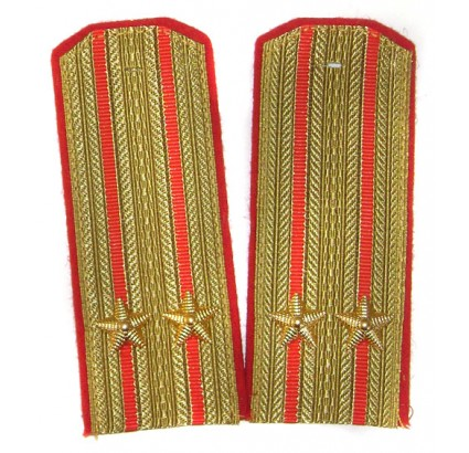 USSR parade shoulder boards INFANTRY epaulettes