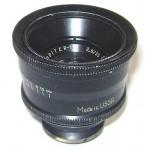 Lente negra JUPITER-12 para cámara Fed Zorki Leica 2,8 / 35