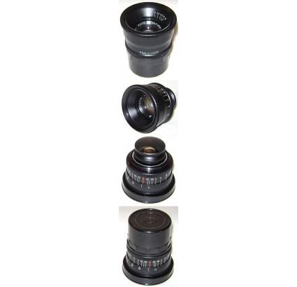 JUPITER-12 BLACK Lens F=3,5 for Fed LEICA Zorki cameras NOS