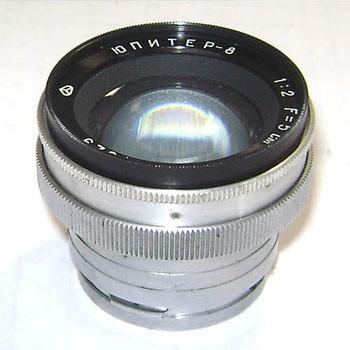 Objectif JUPITER-8 pour Kiev 4 A caméras M 1: 2 F = 5 1959
