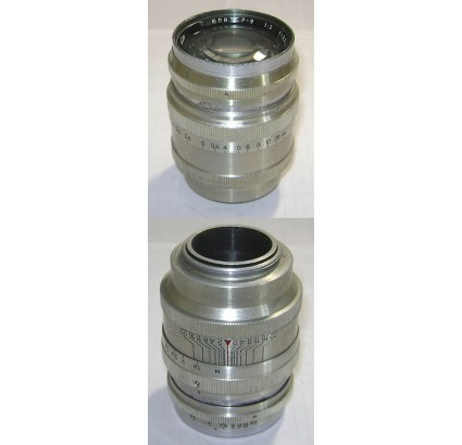 Soviet Lens JUPITER-9 for Fed Zorki Leica cameras F=8,5