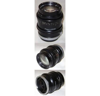 JUPITER-9 BLACK Lens 2/85 for KIEV and CONTAX cameras
