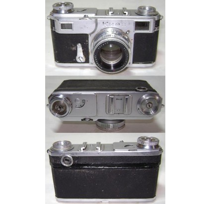「ZK」レンズZORKI付きKIEV-2カメラソビエトCONTAXコピー