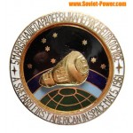 SOVIET SPACE BADGE (A.Shepard First American in Space)