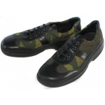 Russian camouflage light leather boots KOSFO