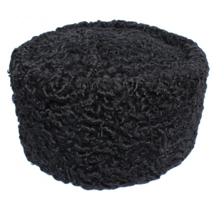 Black Karakul Kubanka Russian winter fur hat Papaha