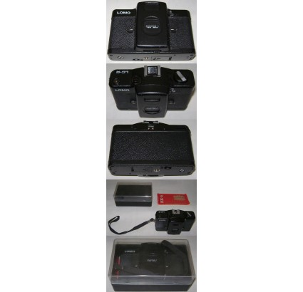 "Soviet Camera LOMO COMPACT AUTOMAT ""LCA"" LK A 35mm BOX"
