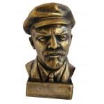 Russische sowjetische sowjetische kommunistische Büste Lenins