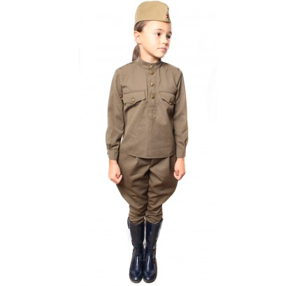 Soviet Army KIDS UNIFORM Russian suit for SMALL children