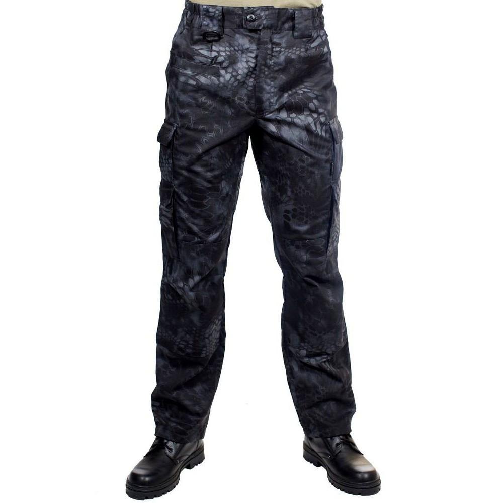 Pantalones Tacticos Camo Python Militares Negro