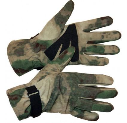Softshell tattica mimetica russa Guanti