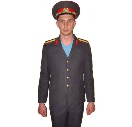 Russian Police Officer service uniform Militia USSR
