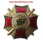 Insigne de récompense russe VETERAN OF AFGHANISTAN WAR Croix-Rouge