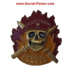 SPECIAL FORCES metal Badge SPETSNAZ Maroon Beret SWAT