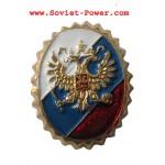 ロシアの旗とのRFセキュリティサービス帽子BADGE