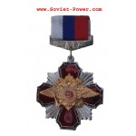 Russische Armee SWAT MEDAL Auszeichnung Double Eagle Red Cross
