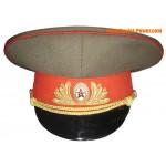 Russian Army field Generals cap Soviet visor hat
