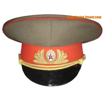 Generali dell esercito russo campo cappello visiera Sovietica
