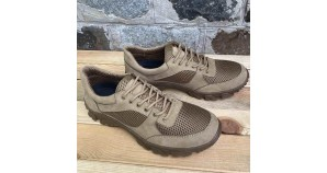 Russian army footwear Tactical summer Military leather and textile sneakers