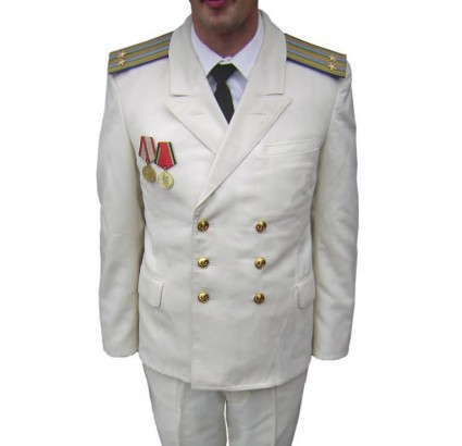 Militaire russe AVIATION navale uniforme de parade
