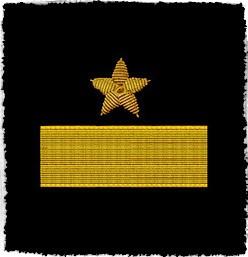ソ連艦隊ロシア海軍2役員の肩パッチ