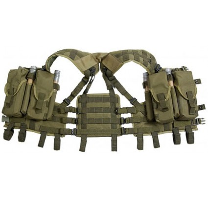 Tactical MOLLE load bearing transport vest NERPA - SEAL