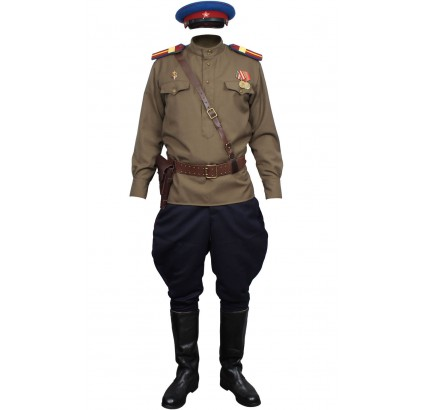 Russian Army WW2 NKVD Soviet military uniform