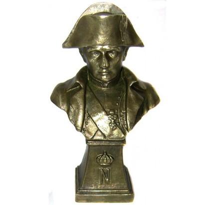 "Soviet Bronze Figurine ""Napoleon High Bust"""