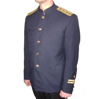 Officiers URSS Flotte de la Marine veste bleue