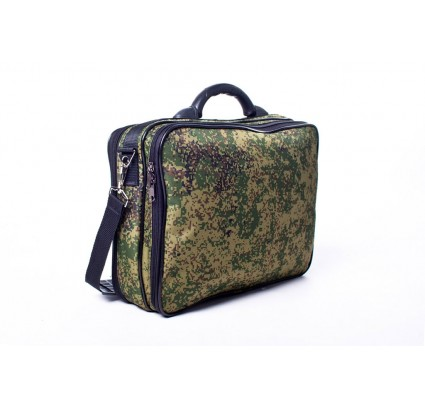 Laptop Shoulder Bag Travel Briefcase Bag Business Russian digital camo