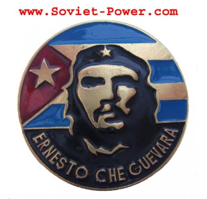 CHE GUEVARA Metal BADGE pin Made in Ukraine
