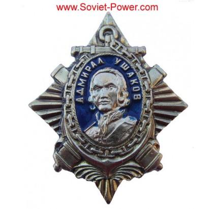 ORDINE sovietico di ADMIRAL USHAKOV Naval USSR Award