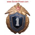 Distintivo militare SOLDIER della Russian Army I-ST CLASS Russia