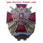 Insignia del EJERCITO ruso CRUZ MALTESA ROJA Militar RF Águila