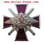Russian RED CROSS Military BADGE Esercito di RUSSIA Eagle