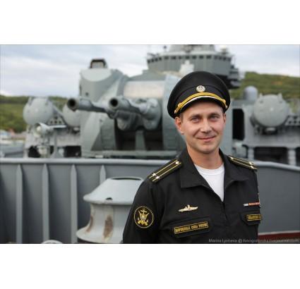 Navy Fleet officer ripstop summer jacket black VMF RF