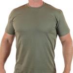Militär Stil Olive khaki Baumwoll-T-Shirt