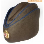 Soviet / Russian state security hat forage cap PILOTKA + badge