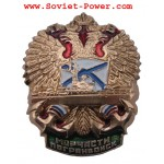 Insignia del ejército ruso DIVISIONES MARINAS DE GUARDIAS DE FRONTERA