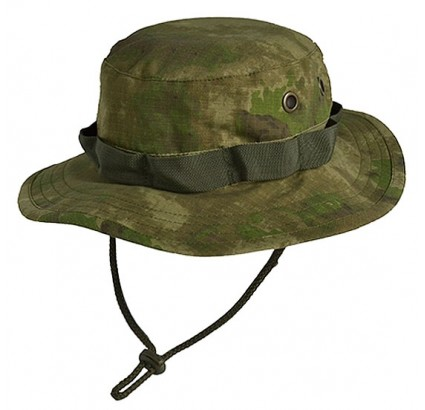 Camo Panama boonie chapeau A-TACS ripstop cap russe